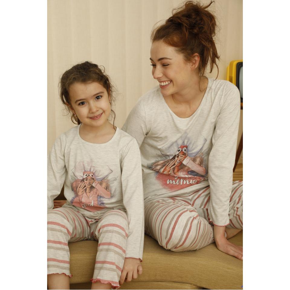 Памучна детска пижама A-63079-K-13