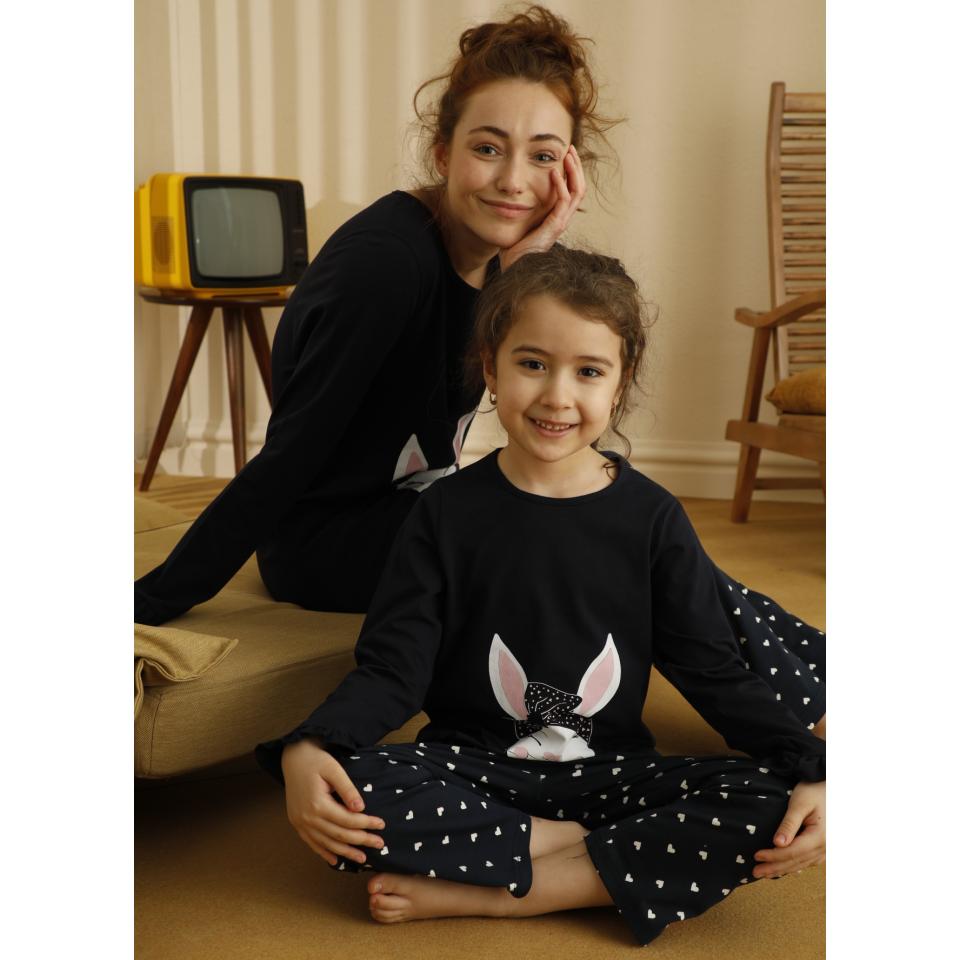 Памучна детска пижама A-63081-K-5
