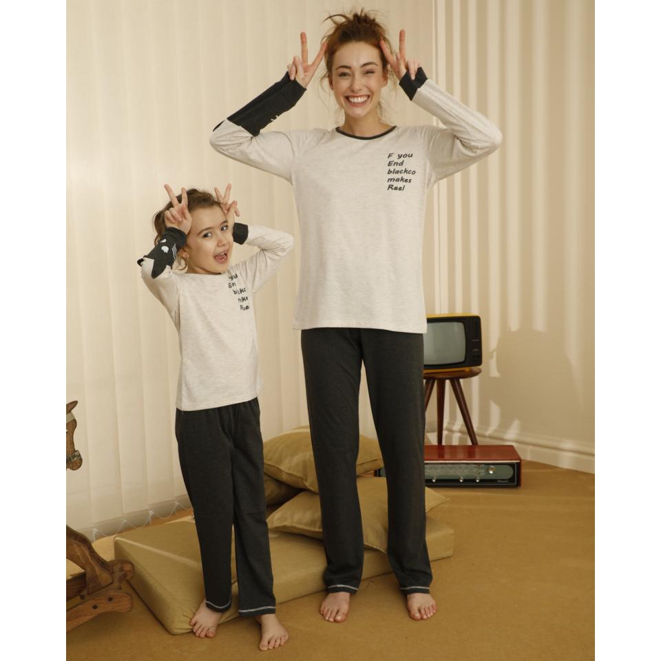 Памучна детска пижама A-63095-K-7