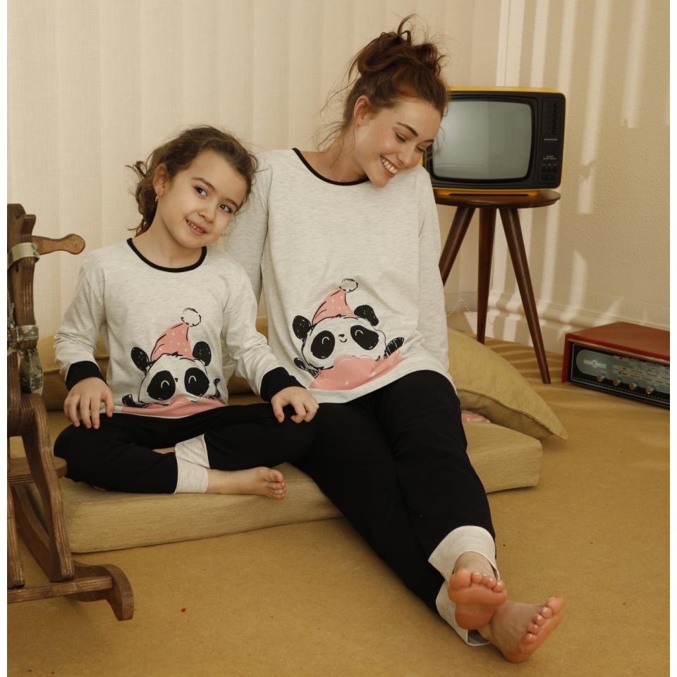 Памучна детска пижама A-63138-K-13