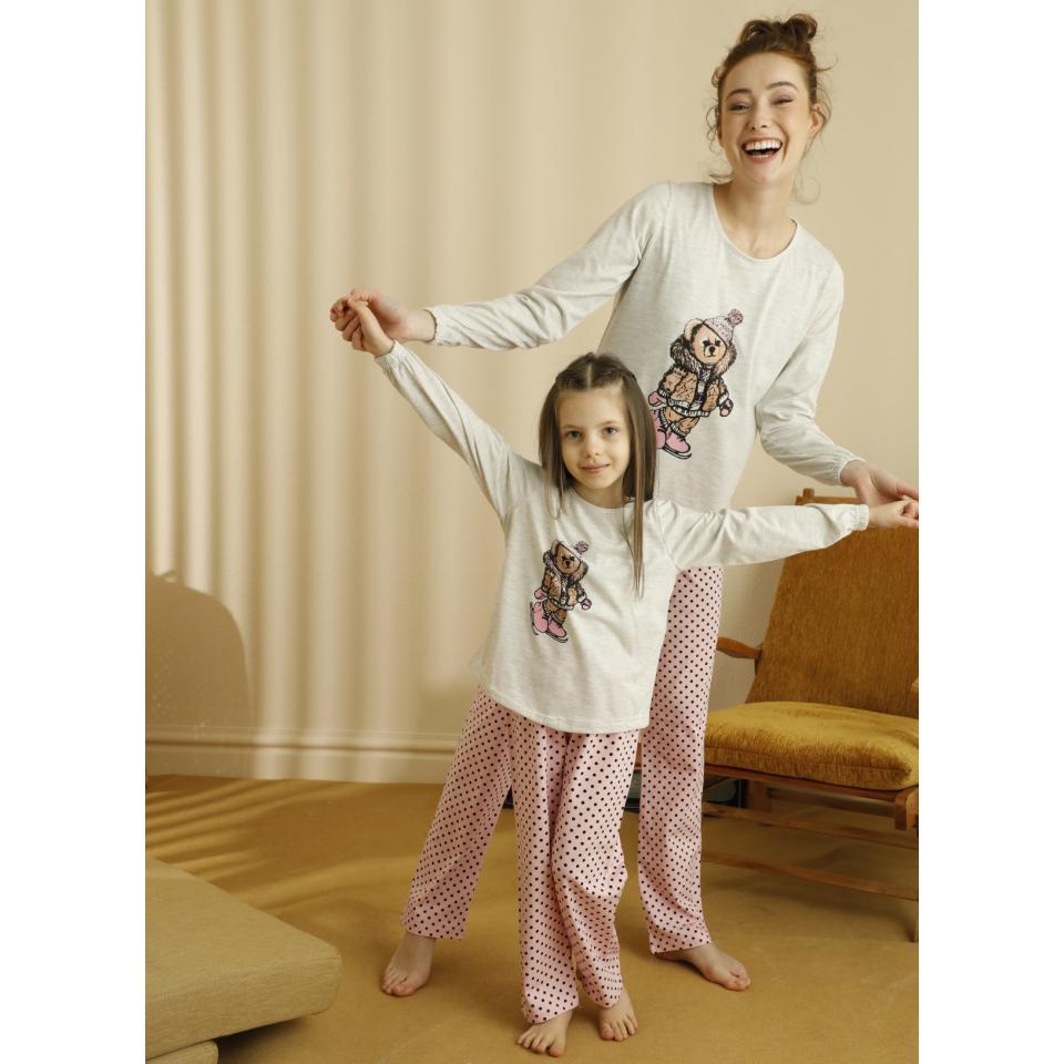 Памучна детска пижама A-63172-K-13