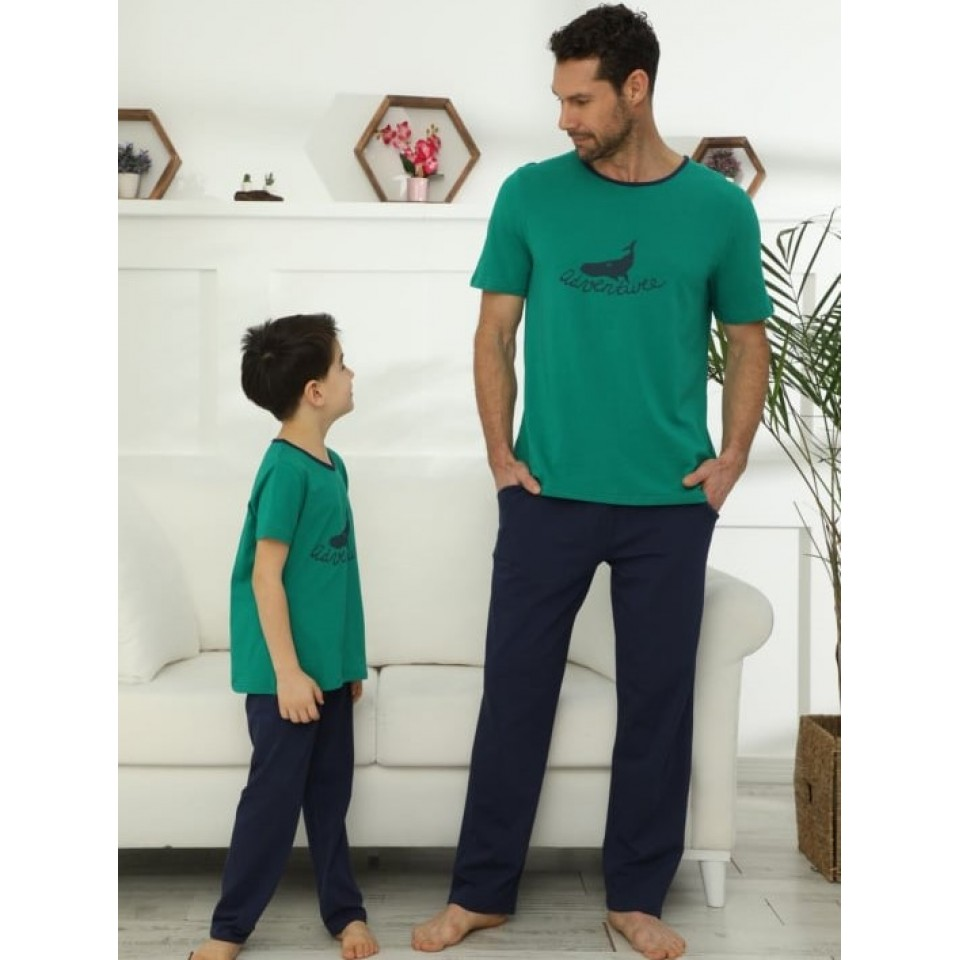 Мъжка пижама A-48023-21