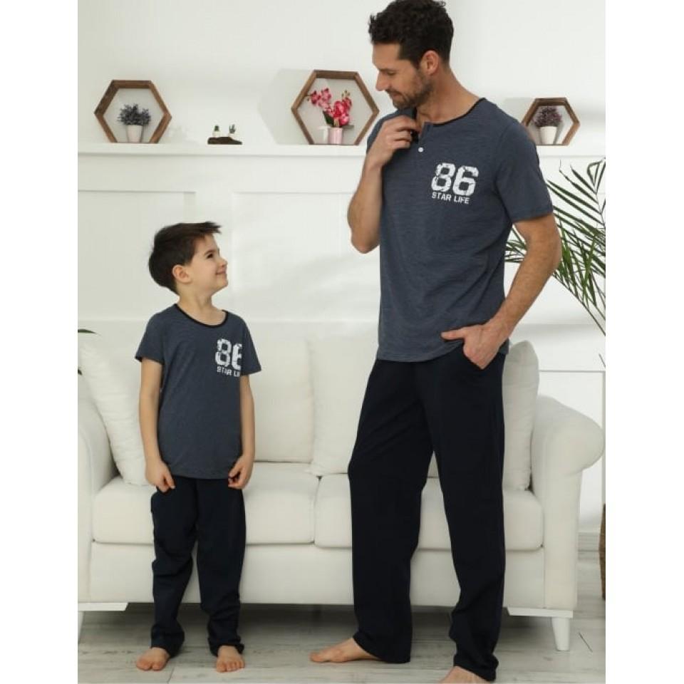 Мъжка пижама A-48029-5