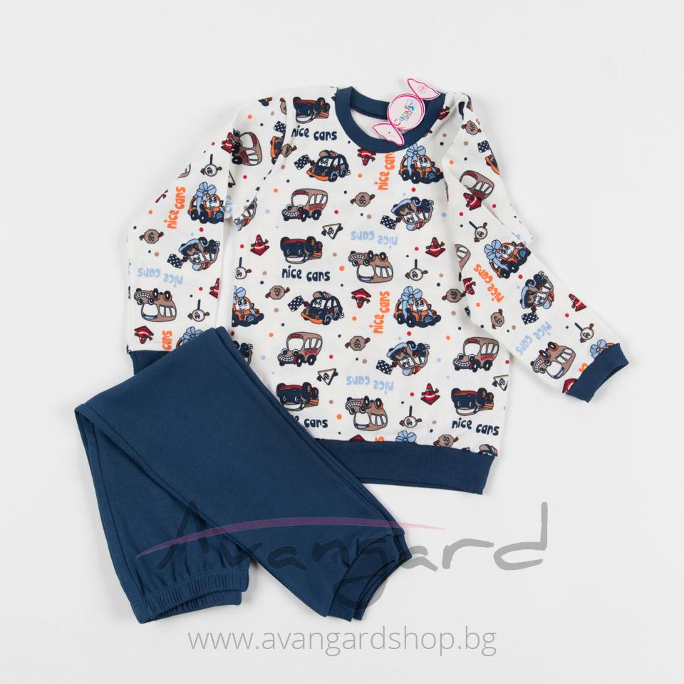 Детска пижама A-70058-5-G(104см.-116см.)
