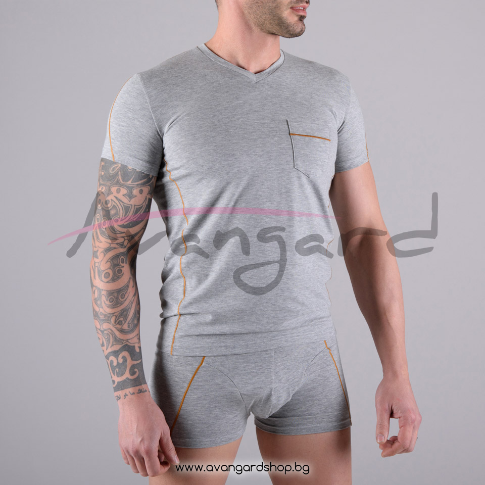 Тениска с къс ръкав A-0386-13-1