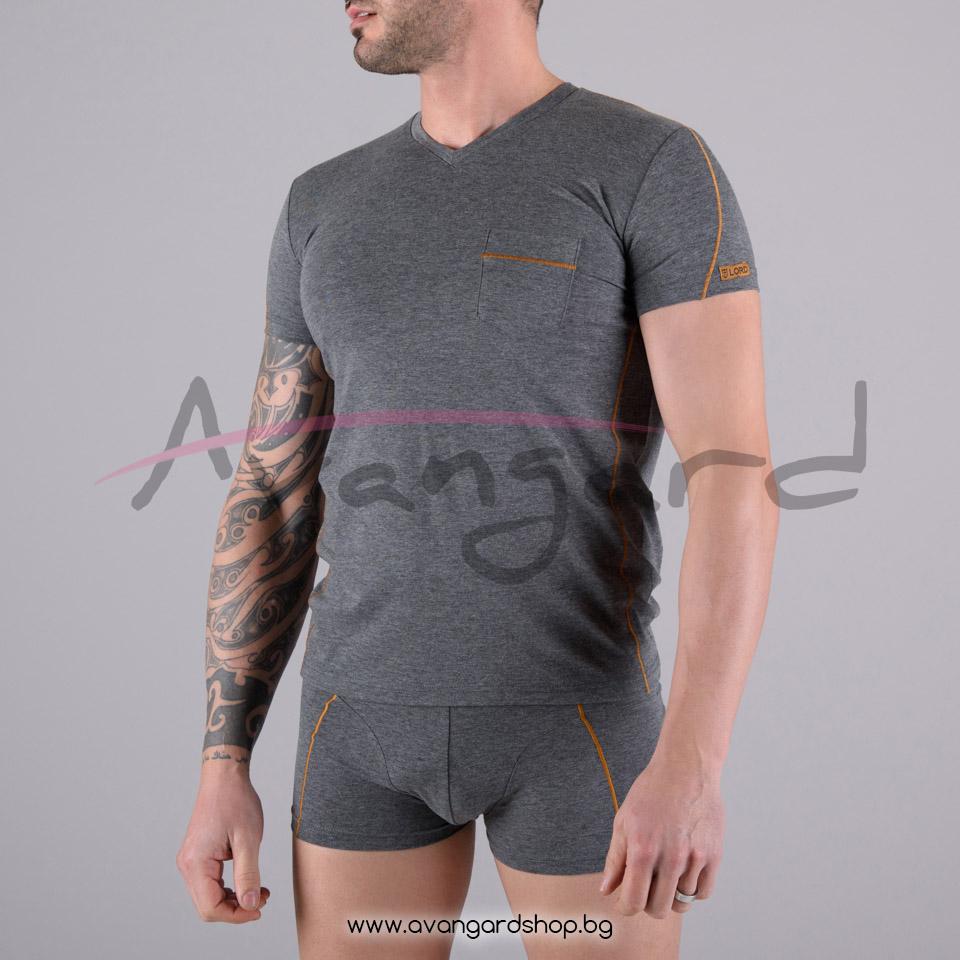 Тениска с къс ръкав A-0386-13