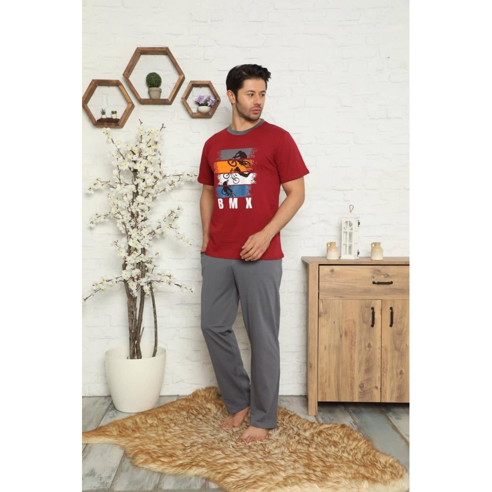 Мъжка пижама A-2519-6